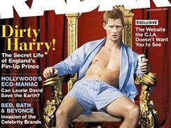 Princ Harry na titulní stránce magazínu Radar